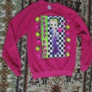 1994 Betty Boop Sweatshirt Size XL